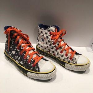 Converse Allstars Spaaaaace High Top Sneakers